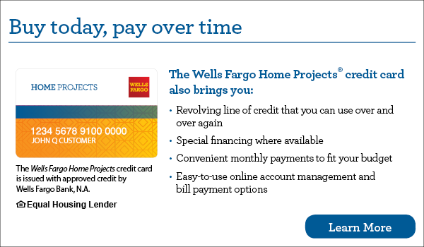 Wells Fargo Home Projects Financing